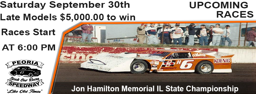63rd Annual IL State Championship/Jon Hamilton Memorial $5,000.00 to win for UMP Late Models post thumbnail image