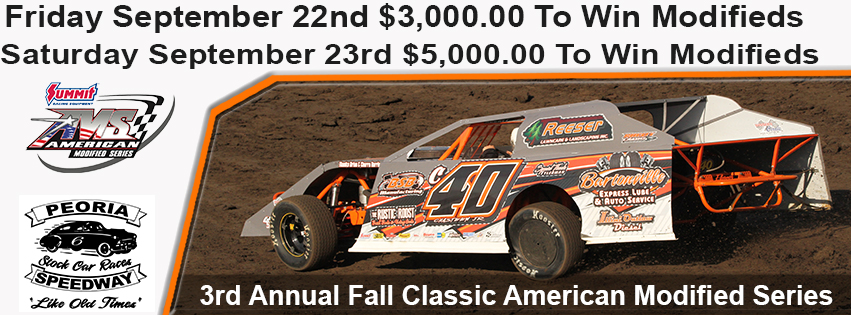 Fall Classic American Modified Series this weekend post thumbnail image