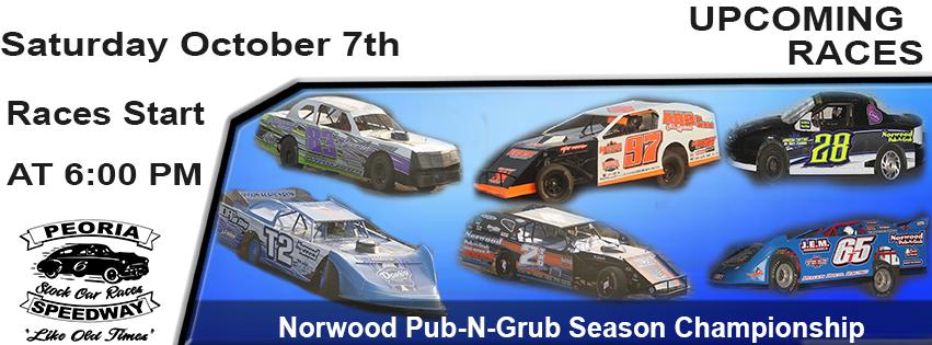 Norwood Pub-N-Grub Season Championship post thumbnail image