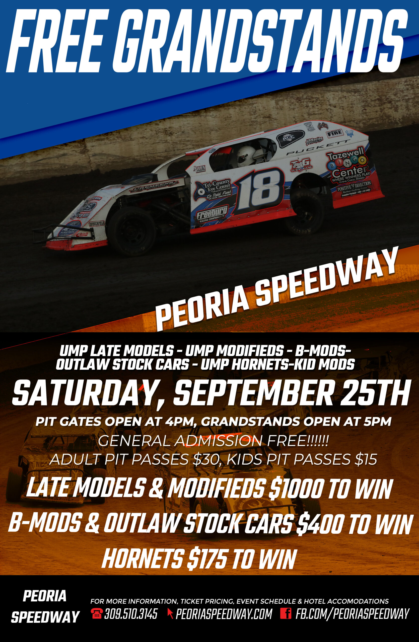Free for all fans to get in the Grandstands!!!!! post thumbnail image
